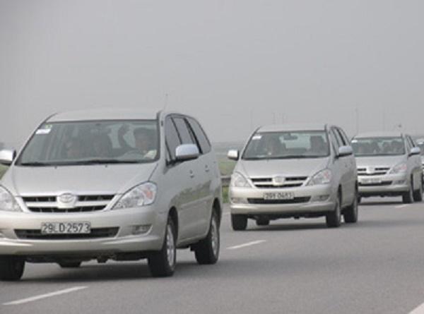Xe 1 chiều, 2 chiều từ Nội Bài đi các tỉnh