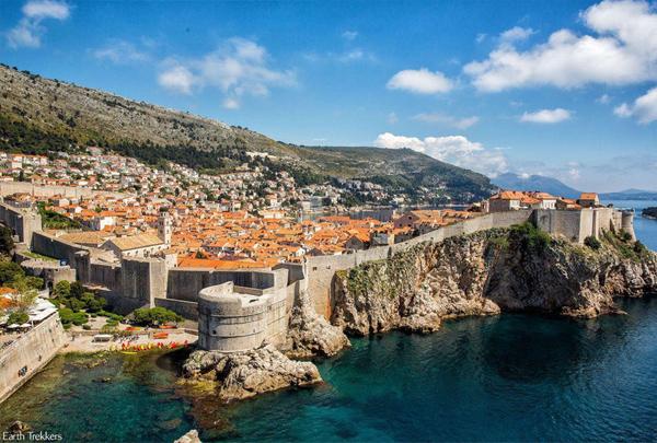 Thành phố Dubrovnik của Croatia