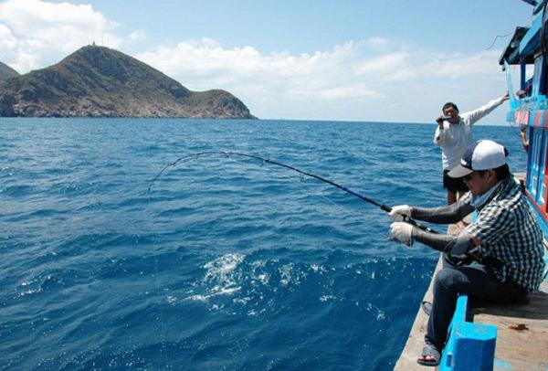Câu cá ở Côn Đảo