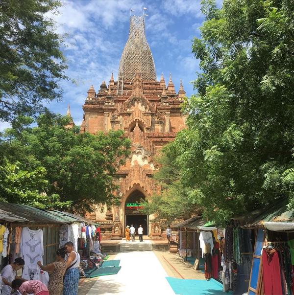thành phố Bagan ở Myanmar