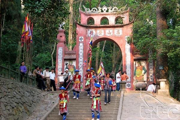 Khu di tích lịch sử Đền Hùng tại Phú Thọ